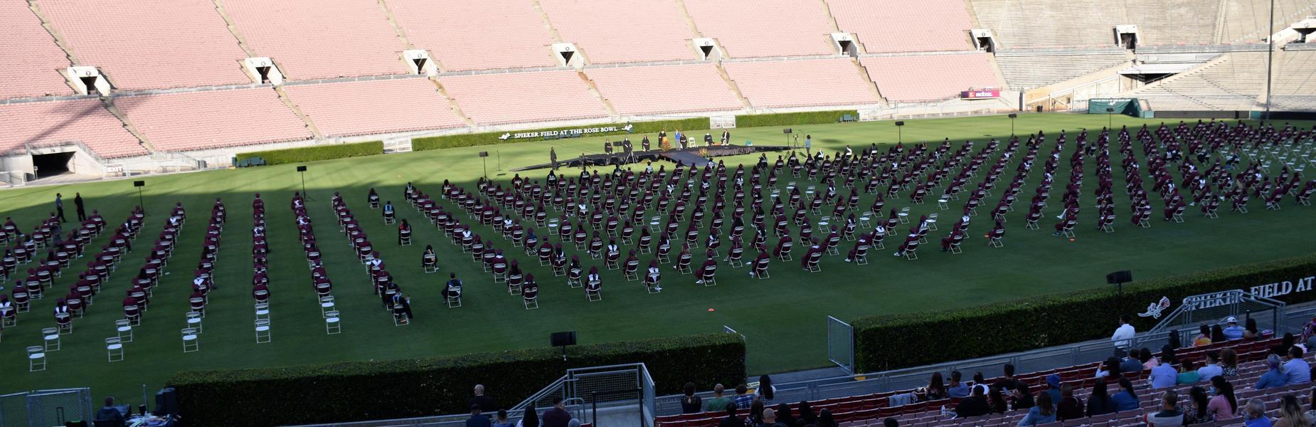 2021 Graduation at Rose Bowl Stadium