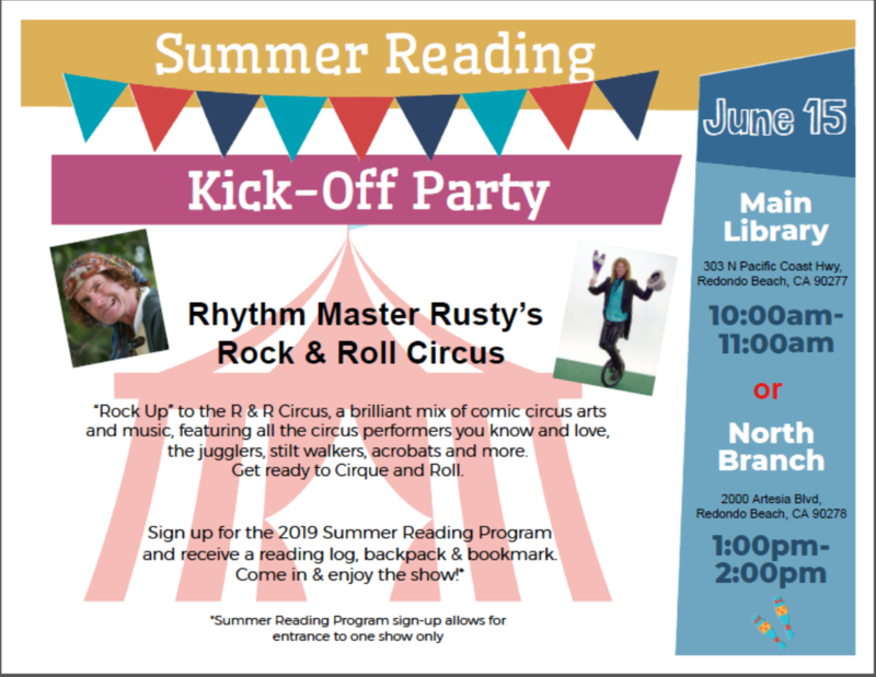 Summer Reading Kick-Off Party Featured Photo