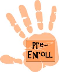 Pre-enrollment - April 15-June 7, 2019 Thumbnail Image