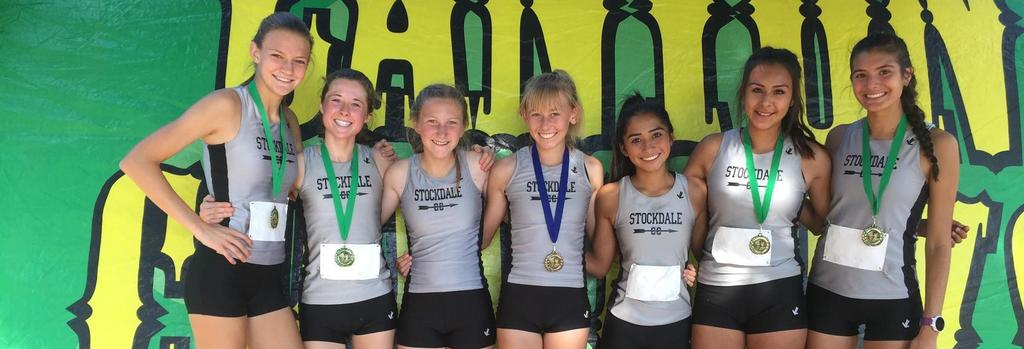 Stockdale Girls Cross Country take 2nd place @ Santa Clarita Invitational