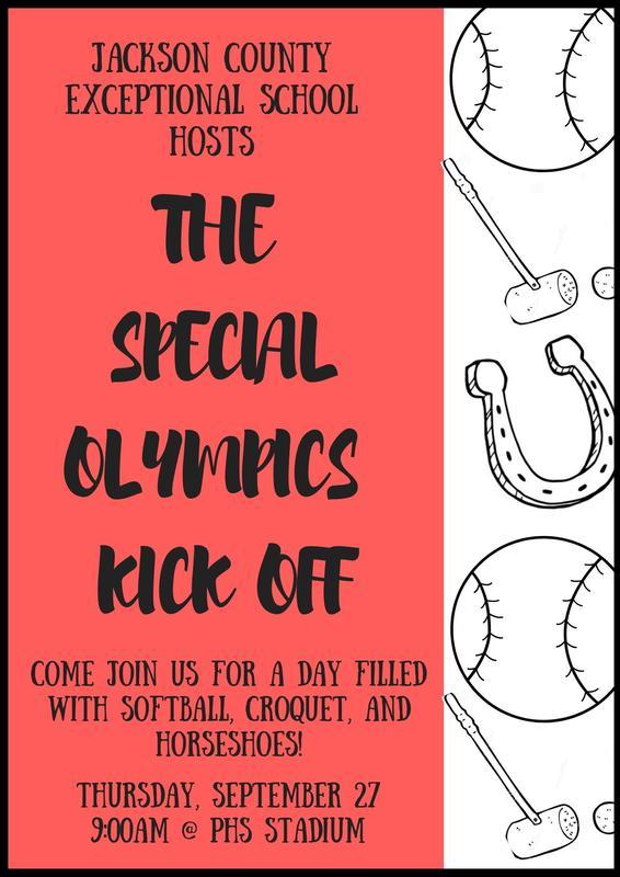 Special Olympics Flyer