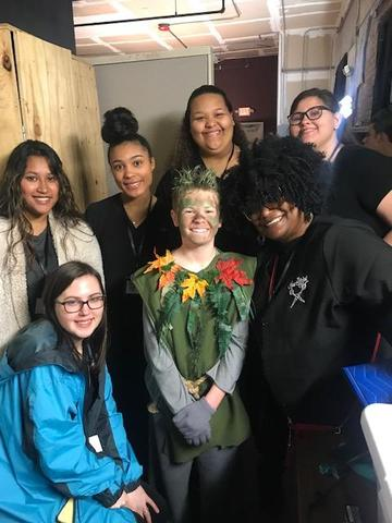 Cosmetology Students Create Magic with Frozen Jr Featured Photo