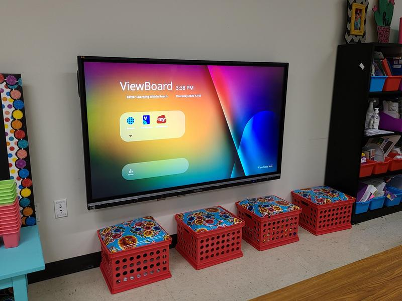 interactive display board
