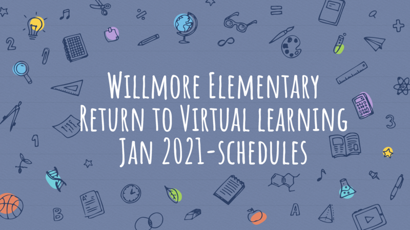 January Virtual Schedules
