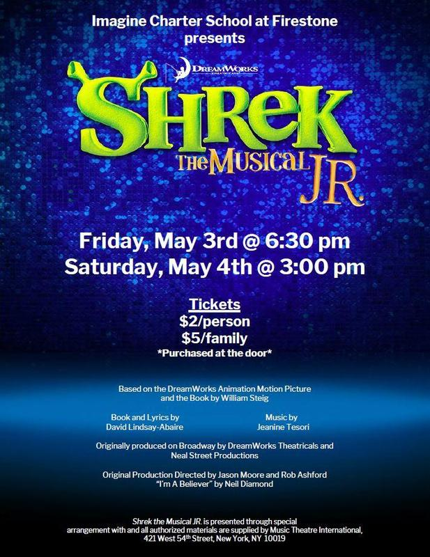 Bring your family and friends to see SHREK, JR, The Musical! Featured Photo