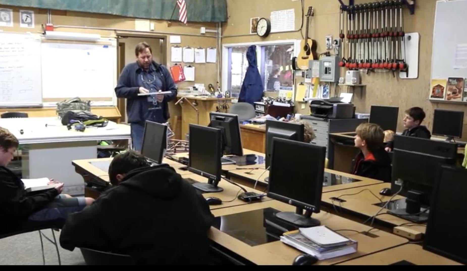 Woodshop classroom