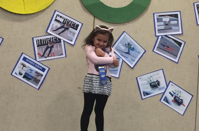 Science Fair winner from Preppy K