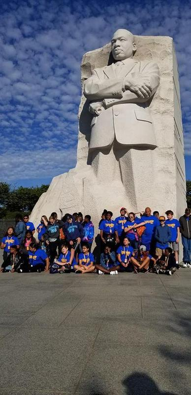 MLK jr and SLMS kids