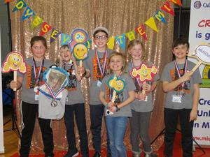 Page Elementary team members earned a second place award and will advance to the world finals.
