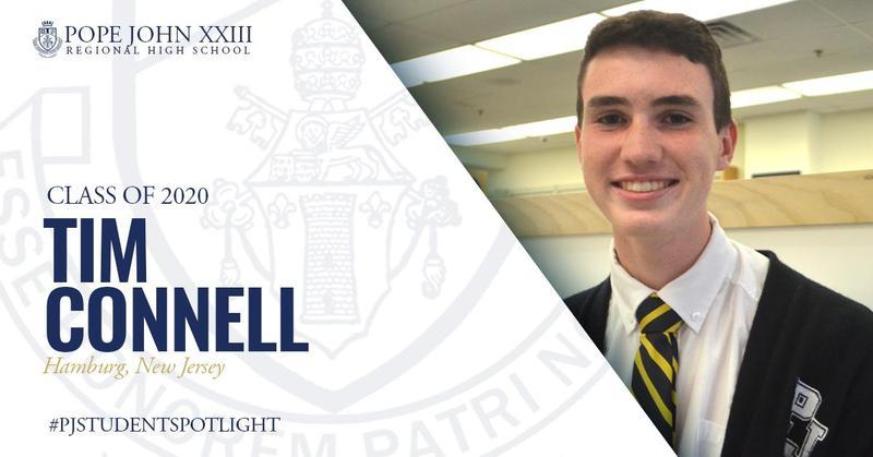 Tim Connell PJ Student Spotlight