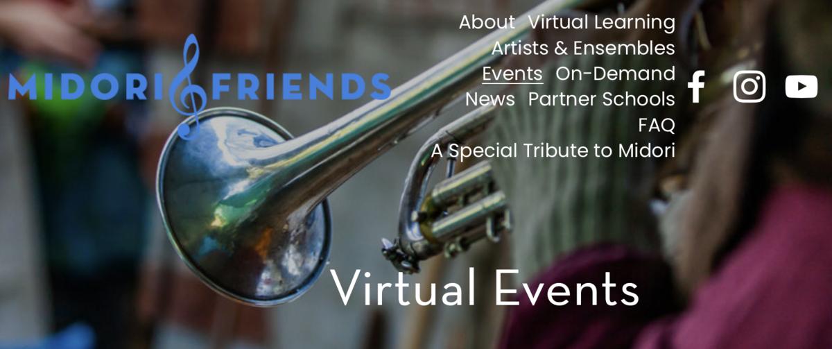 Midori Virtual Events Banner