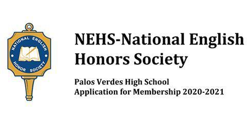 Join the National English Honor Society! Thumbnail Image