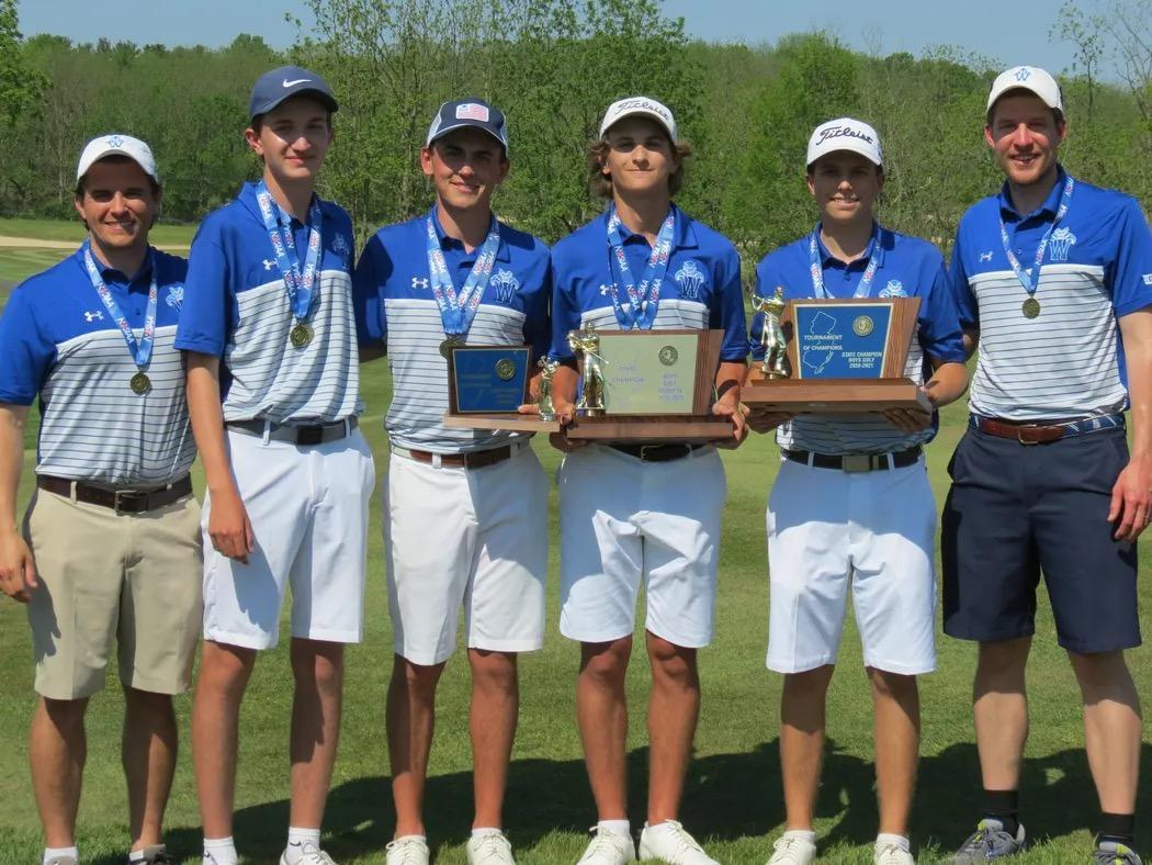 2021 TOC Boys Golf State Champions!! Colin Summers wins 1st Individual TOC w/ 63 (-7) EyesEyesTrophyFirst place medal Barnes Blake 73 David Givand 73 Nicholas Conti 75 Team Score: 284