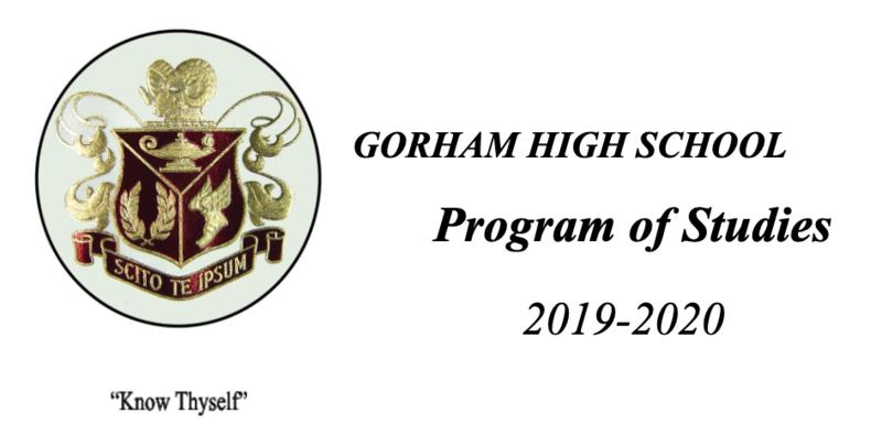 NEW Program of Studies 2019 / 2020 Thumbnail Image