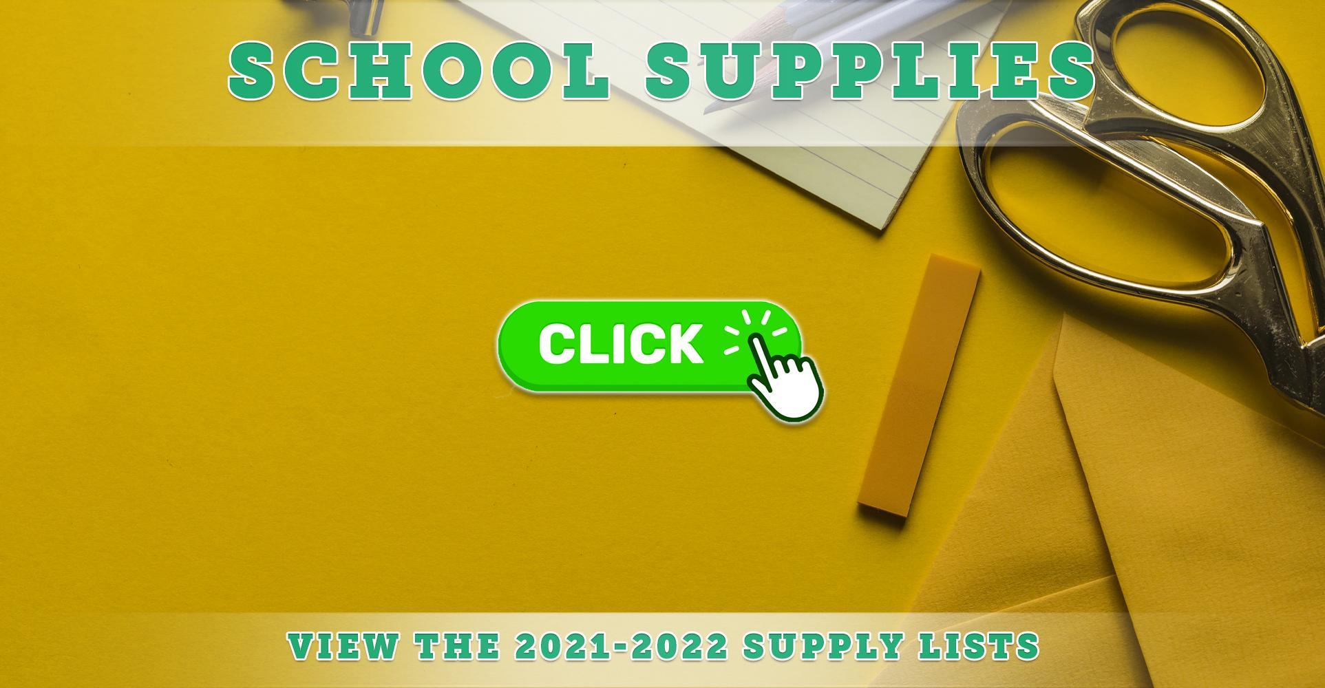 2021-2022 School Supply Lists Now Available