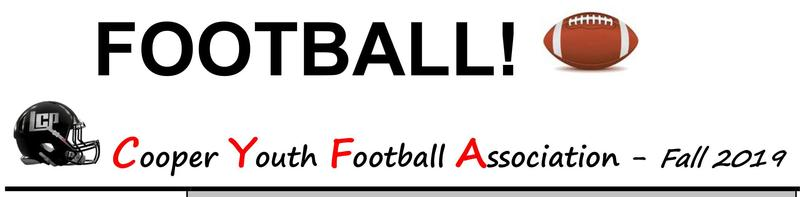 Cooper Youth Football Association - Registration Thumbnail Image