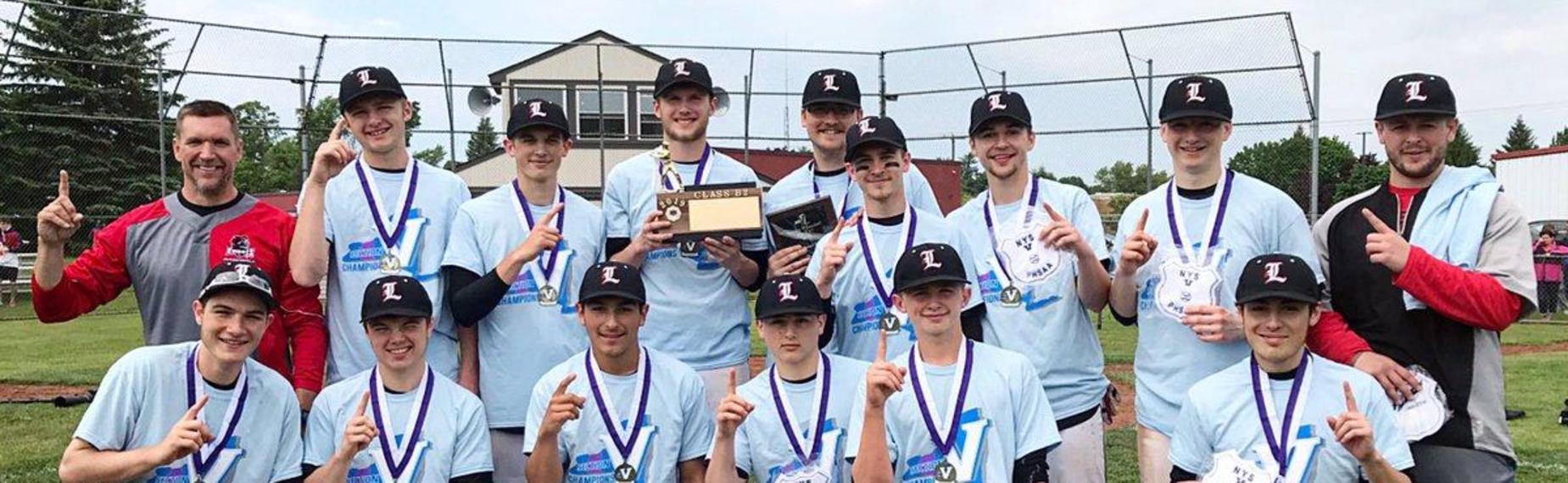 Boys Baseball Section V Champs