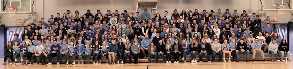 Students and Staff Dress in Blue to Honor Shane Fields