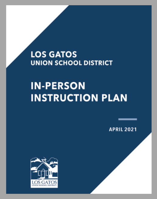 Cover of In-Person Instruction Plan