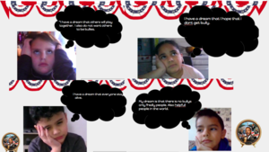Students dream quote collage