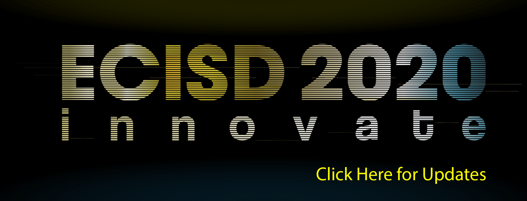 ECISD Innovate 2020 virtual conference. Click for updates.