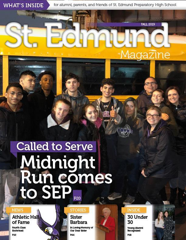 Fall 2019 St. Edmund Magazine is Here! Featured Photo