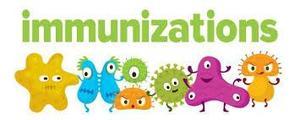immunization colorful design