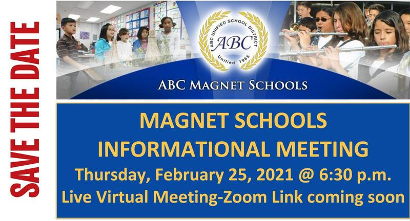 magnet school annoucement