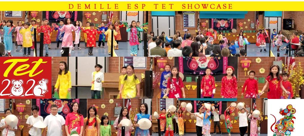 ESP showcases various VIetnamese dances during DeMille's TET celebrations