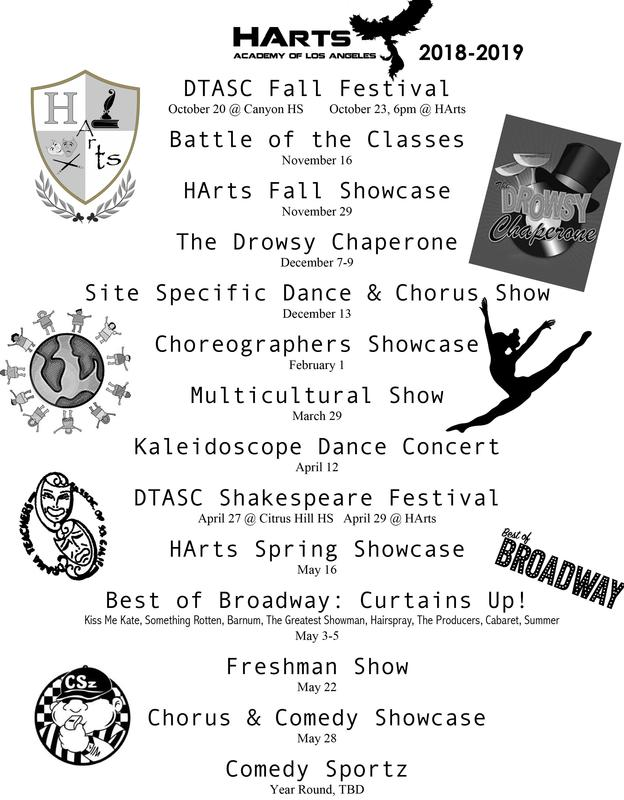 Parents! Here is a list of all the exciting events taking place at HArts Academy Thumbnail Image