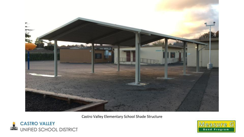 Castro Valley Elementary School Shade Structure