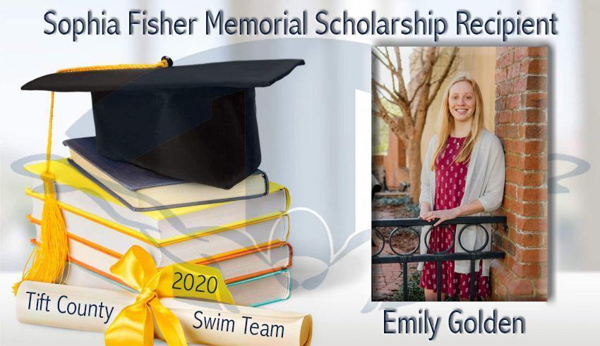 Sophia Fisher Memorial Scholarship Recipient