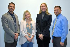 Mars Area School Board welcomed new members Anthony Depretis, Megan Lenz, Sallie Wick and Kevin Hagen at its Reorganization Meeting on Dec. 3.