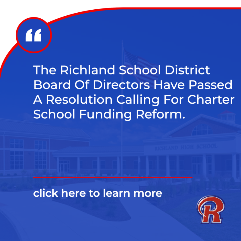 Resolution Calling For Charter School Funding Reform By The Board Of Directors Of The Richland School District Featured Photo