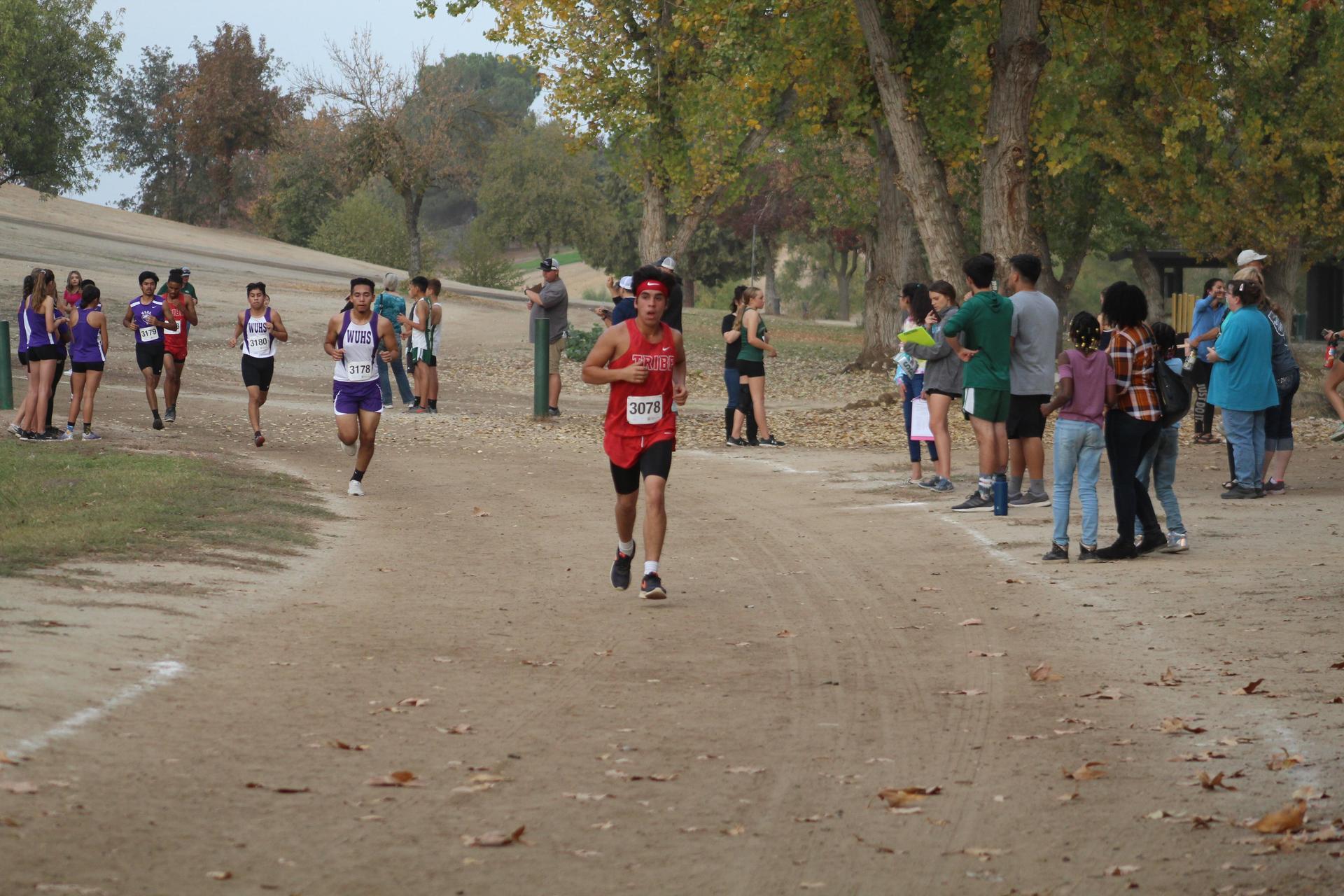 Raymond Mendoza running
