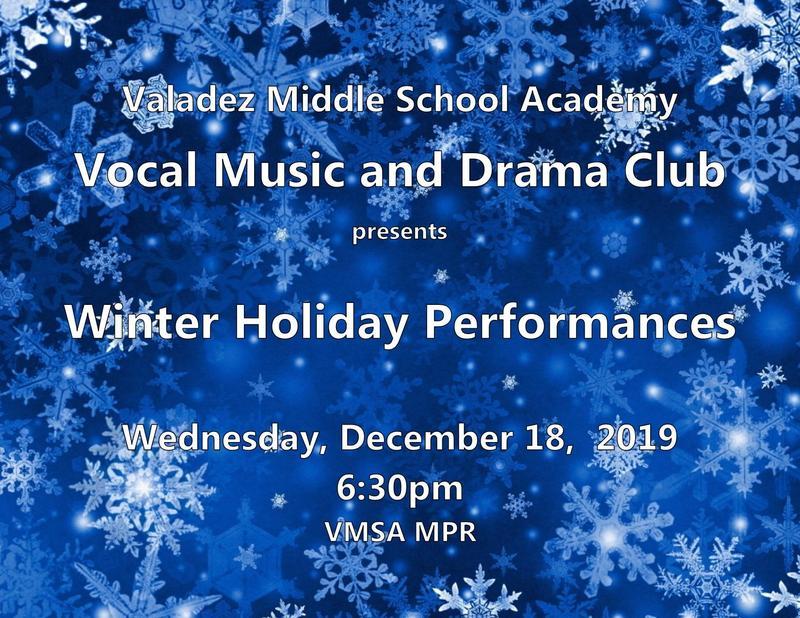Winter Holiday Performance
