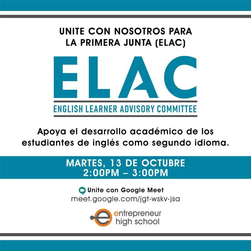 ELAC Meeting