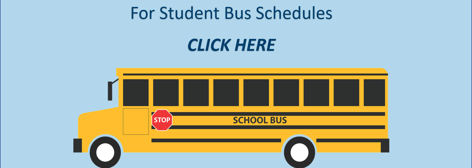 For Student Bus Schedules