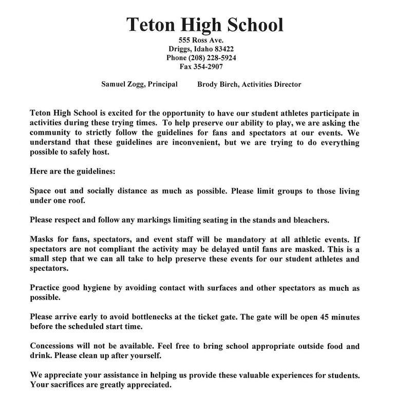 Teton COVID