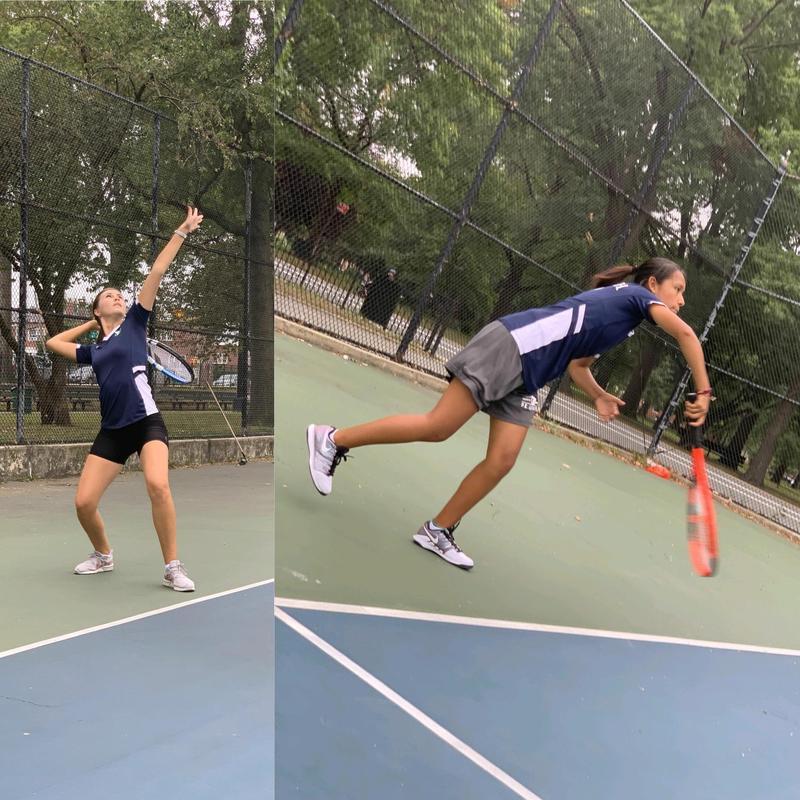 Maspeth High School Tennis Serves Up 4-0 Start Featured Photo