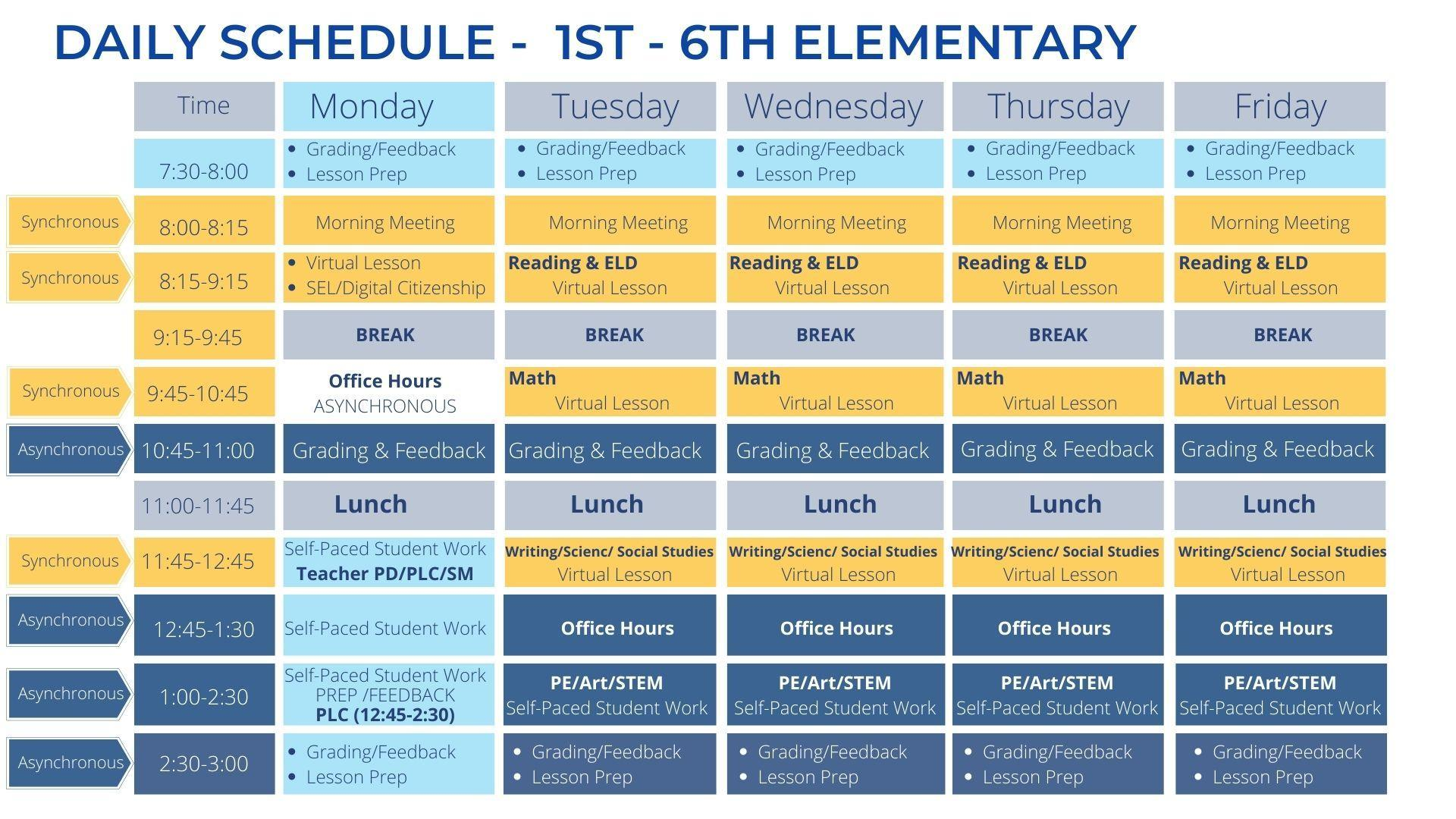 1st-6th Elementary