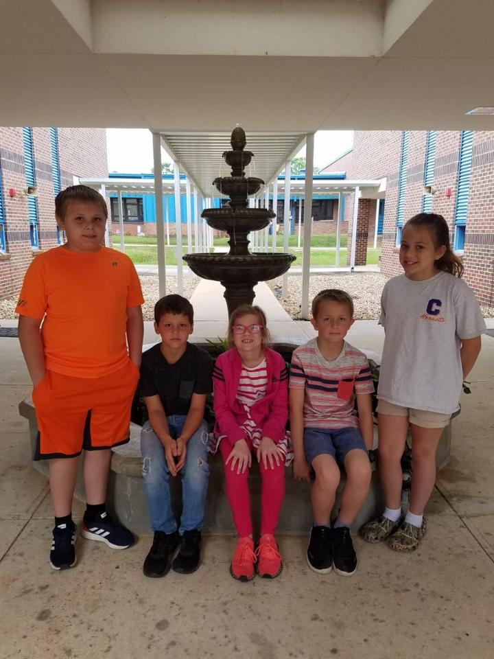 Third Grade Lowes Grant for the Fountain