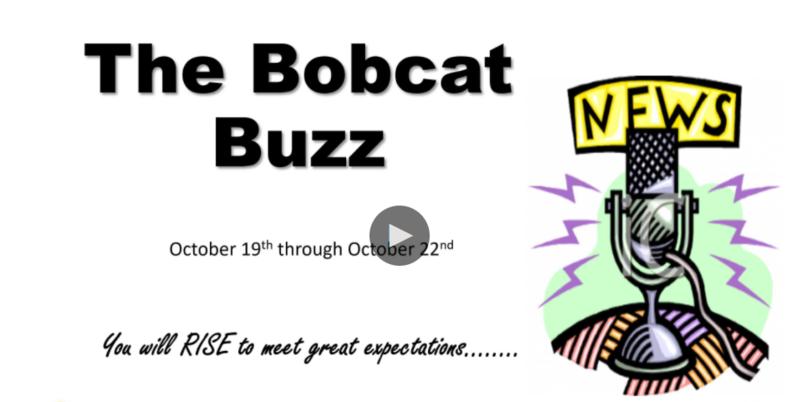 The Bobcat Buzz-Student News 10/19-10/24 Thumbnail Image