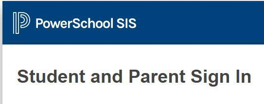 PowerSchool Student-Parent Link