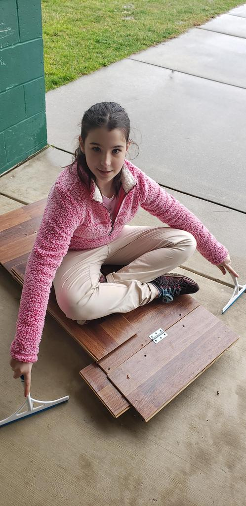 Student participates in Odyssey of the Mind