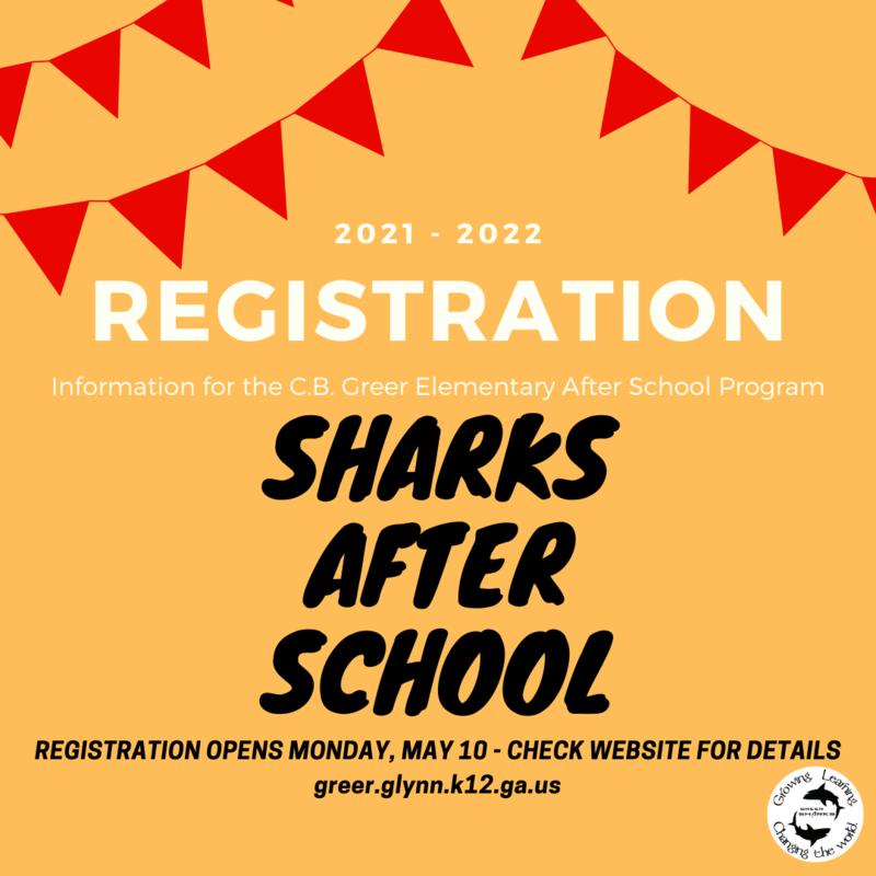 Sharks After School Registration Information