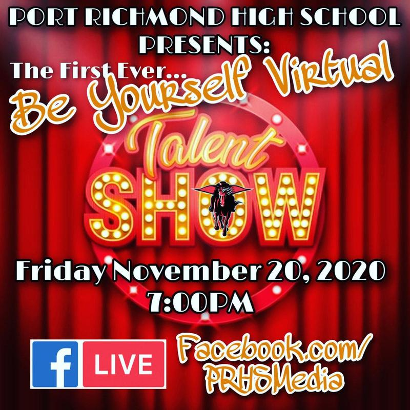 Be Yourself Virtual Talent Show Featured Photo