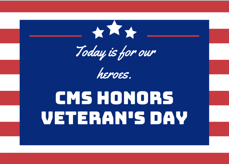 CMS Honors our Veterans Featured Photo
