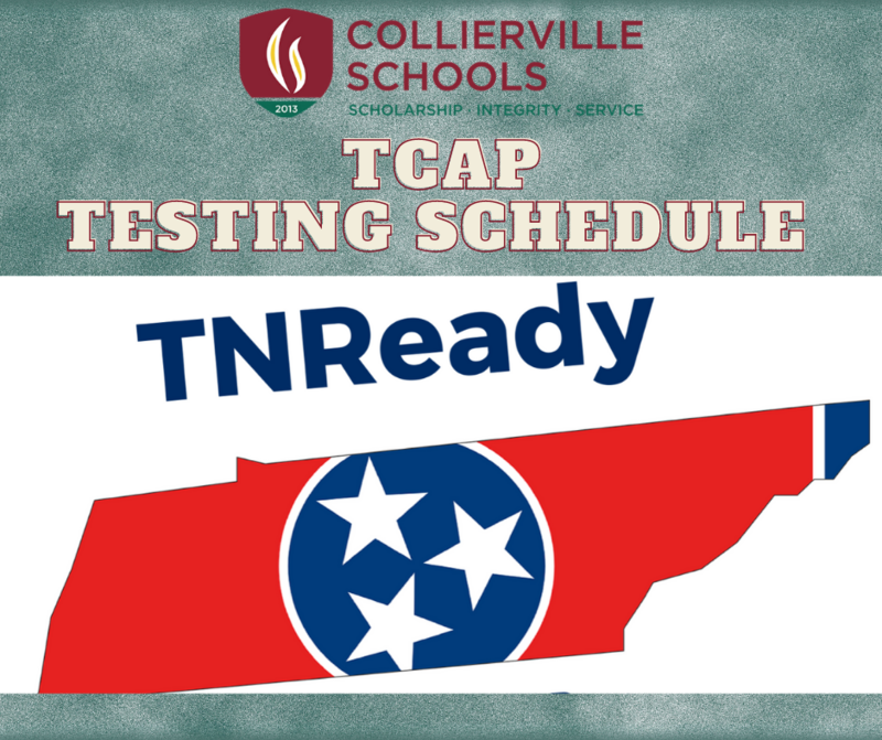 TCAP Testing Schedule Now Solidified for Collierville Schools Featured Photo