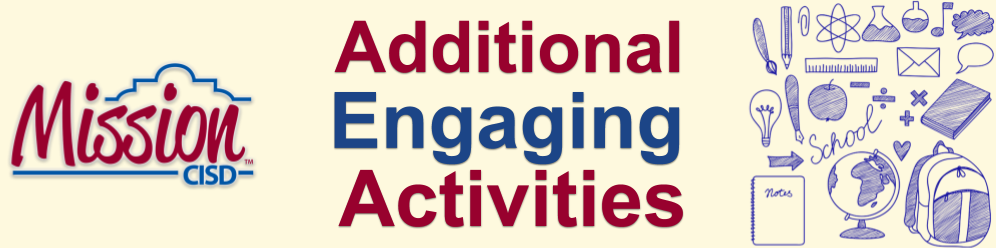 Additional Engaging Activities
